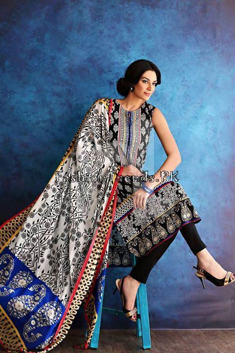 Nisha (Nishat Linen) Spring Summer Collection 2015 (25)
