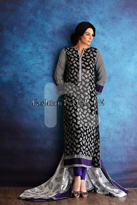 Nisha (Nishat Linen) Spring Summer Collection 2015 (26)