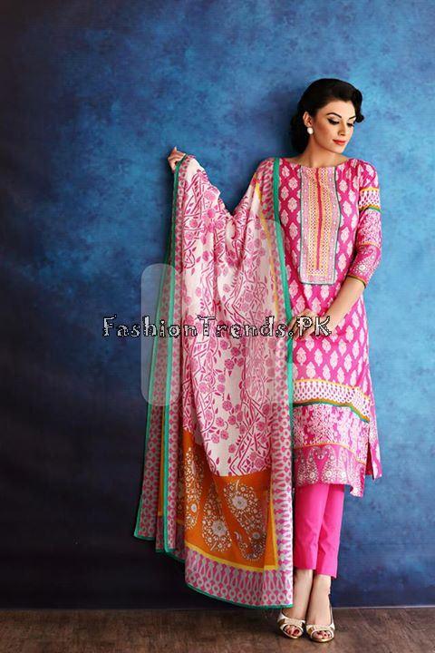 Nisha (Nishat Linen) Spring Summer Collection 2015 (27)