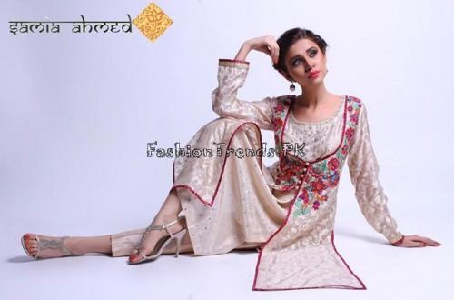 Samia Ahmed Spring Summer Dresses 2015 (10)