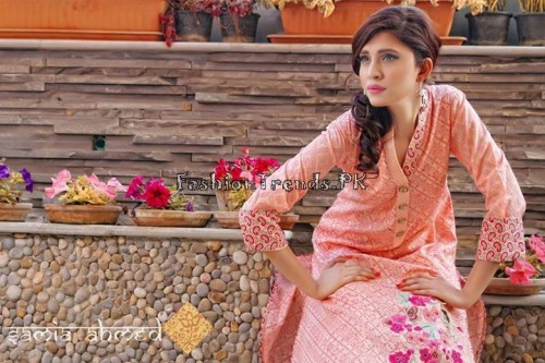 Samia Ahmed Spring Summer Dresses 2015 (14)