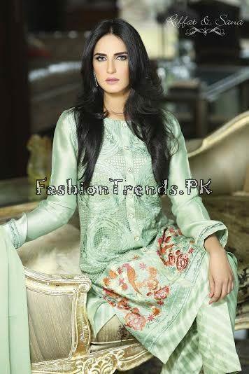 Sana Salman Summer Collection 2015 (1)
