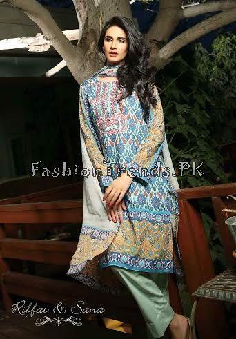 Sana Salman Summer Collection 2015 (16)
