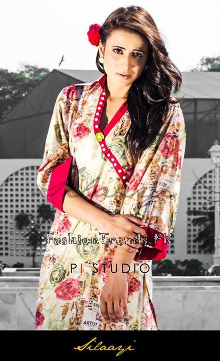 Silaayi Spring Dresses 2015 for Girls (2)