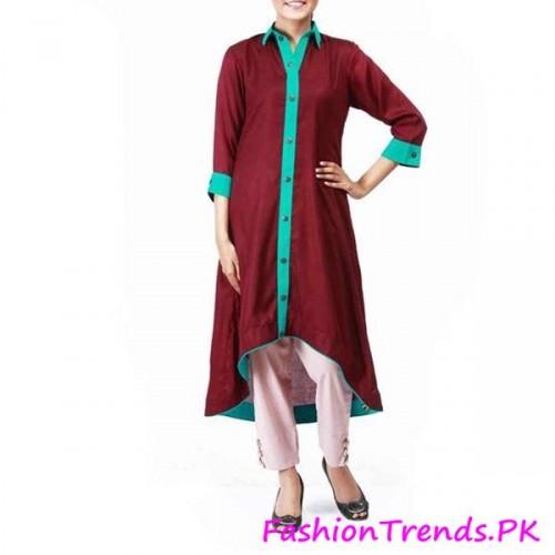 Trends of Women Kurtas In 2015 (4)