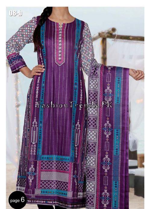 VS Textile Designers Printed Lawn Dress 2015 (5)