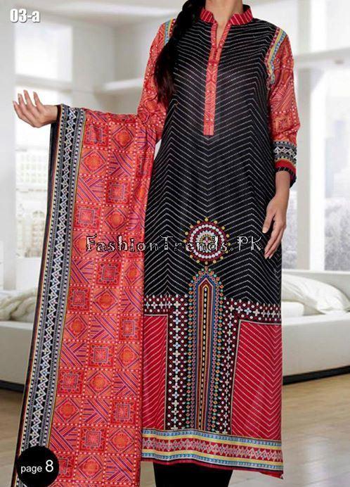 VS Textile Designers Printed Lawn Dress 2015 (10)