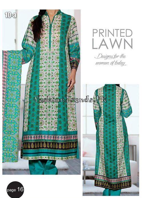 VS Textile Designers Printed Lawn Dress 2015 (16)