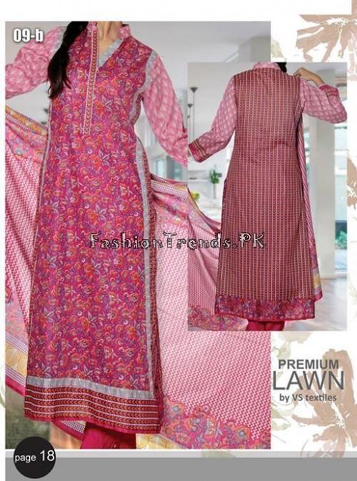 VS Textile Designers Printed Lawn Dress 2015 (18)