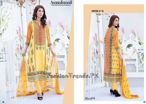 Amna Ismail Lawn Collection 2015 (2)