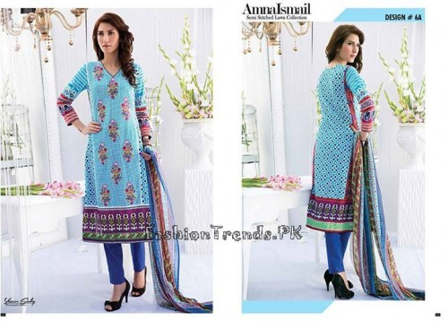 Amna Ismail Lawn Collection 2015 (3)