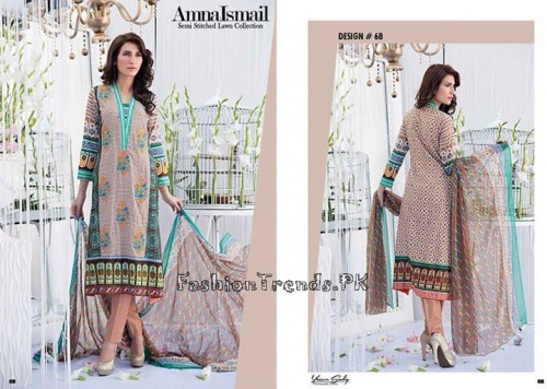 Amna Ismail Lawn Collection 2015 (4)