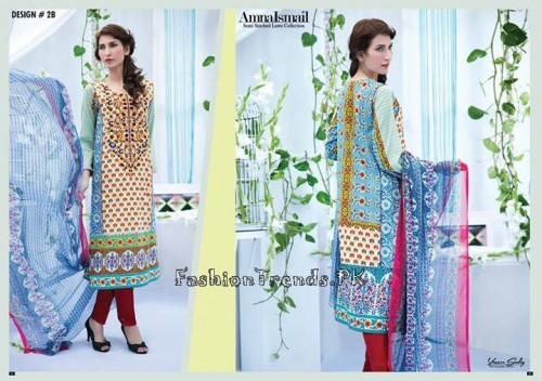 Amna Ismail Lawn Collection 2015 (5)