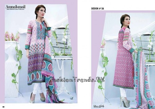 Amna Ismail Lawn Collection 2015 (6)