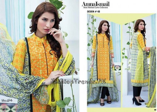 Amna Ismail Lawn Collection 2015 (7)