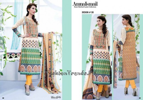 Amna Ismail Lawn Collection 2015 (8)