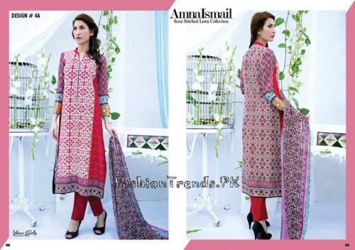 Amna Ismail Lawn Collection 2015 (9)
