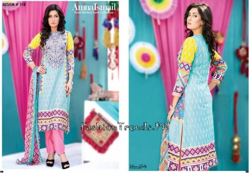 Amna Ismail Lawn Collection 2015 (10)