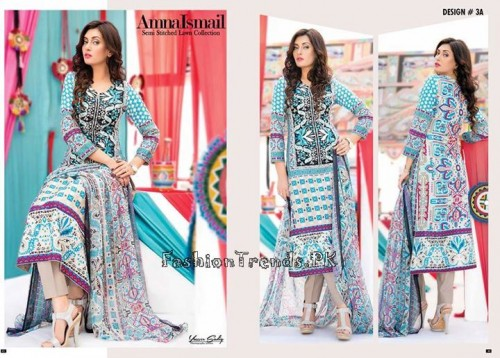 Amna Ismail Lawn Collection 2015 (11)