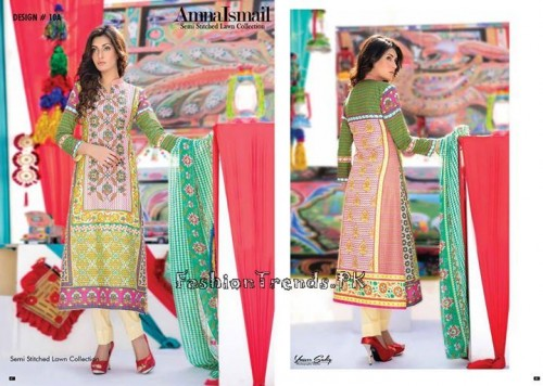 Amna Ismail Lawn Collection 2015 (12)