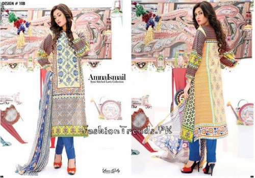 Amna Ismail Lawn Collection 2015 (13)