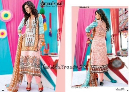 Amna Ismail Lawn Collection 2015 (14)