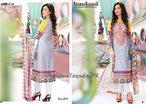 Amna Ismail Lawn Collection 2015 (15)