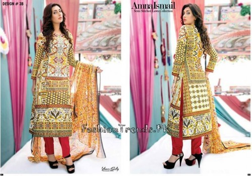 Amna Ismail Lawn Collection 2015 (16)
