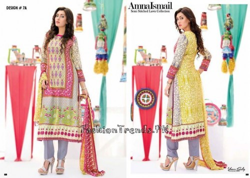 Amna Ismail Lawn Collection 2015 (17)