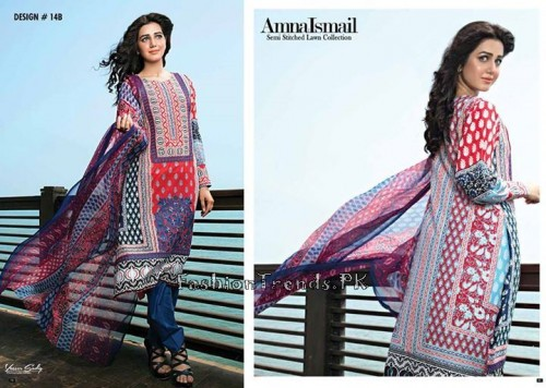 Amna Ismail Lawn Collection 2015 (19)