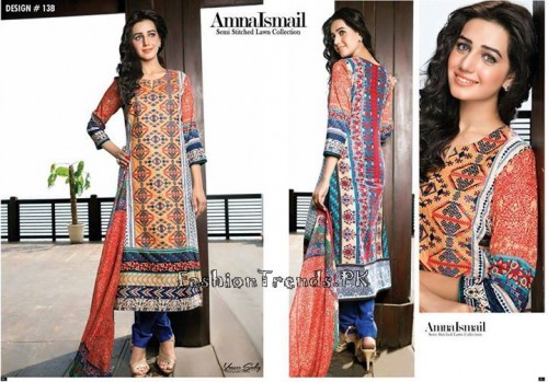 Amna Ismail Lawn Collection 2015 (20)