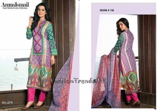 Amna Ismail Lawn Collection 2015 (21)