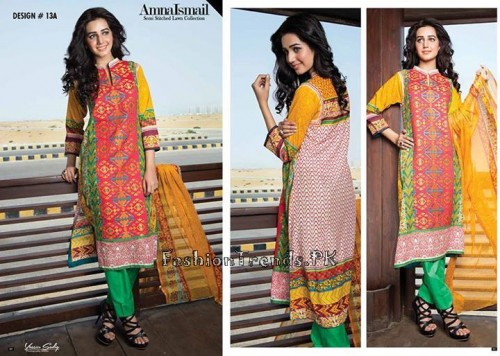 Amna Ismail Lawn Collection 2015 (22)