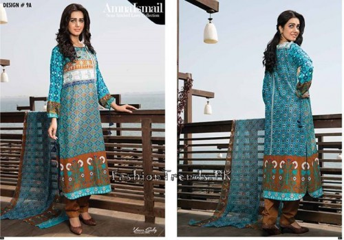 Amna Ismail Lawn Collection 2015 (23)