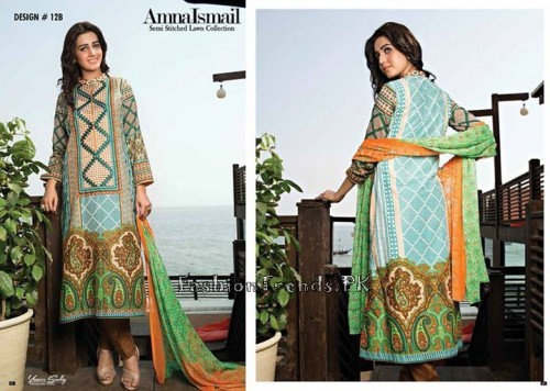 Amna Ismail Lawn Collection 2015 (24)