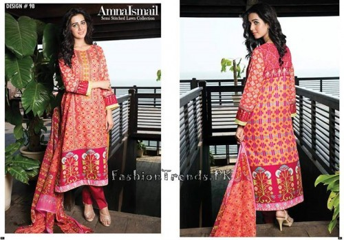 Amna Ismail Lawn Collection 2015 (25)