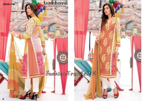 Amna Ismail Lawn Collection 2015 (26)