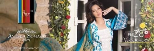 Ayesha Somaya Lawn Collection 2015 (1)