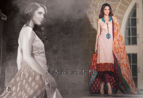 Ayesha Somaya Lawn Collection 2015 (3)