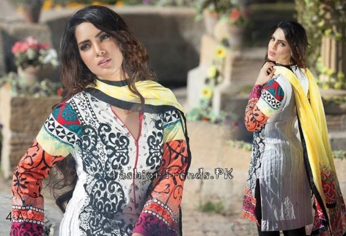 Ayesha Somaya Lawn Collection 2015 (8)