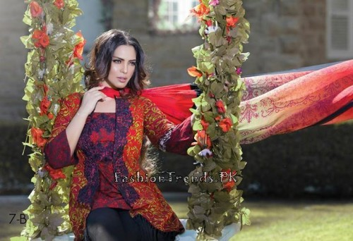 Ayesha Somaya Lawn Collection 2015 (15)