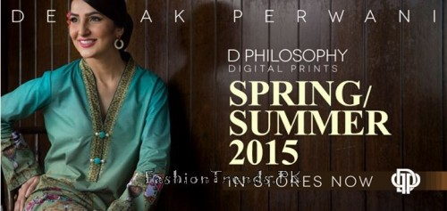 Deepak Perwani Spring Summer Collection 2015 (1)