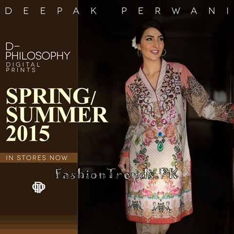 Deepak Perwani Spring Summer Collection 2015 (2)