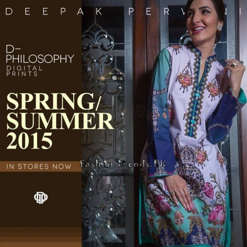 Deepak Perwani Spring Summer Collection 2015 (3)