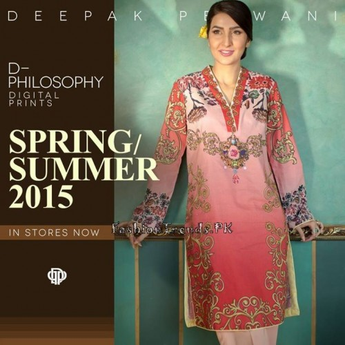 Deepak Perwani Spring Summer Collection 2015 (4)