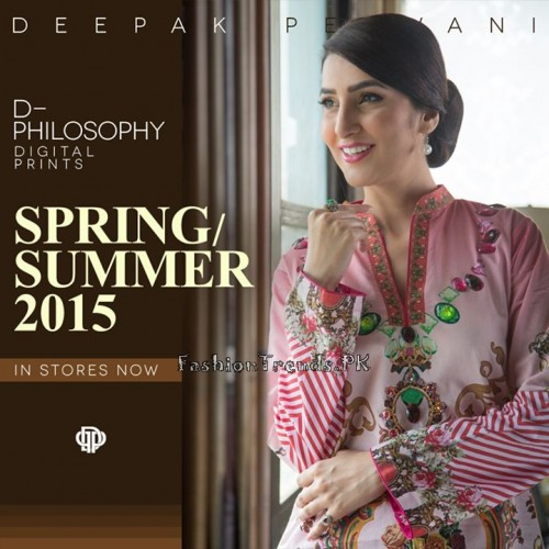Deepak Perwani Spring Summer Collection 2015 (7)