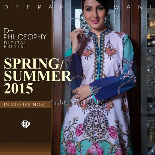 Deepak Perwani Spring Summer Collection 2015 (8)