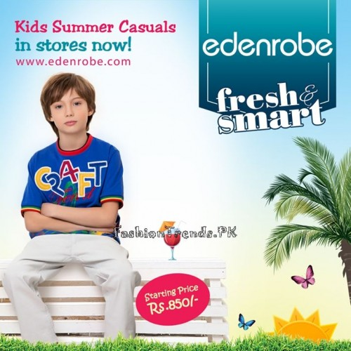 Eden Robe Kids Summer Casual Collection 2015 (3)