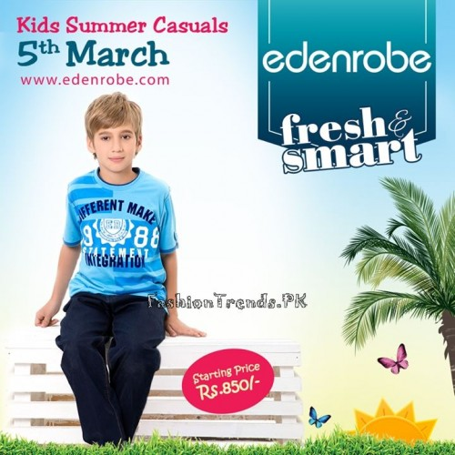 Eden Robe Kids Summer Casual Collection 2015 (12)
