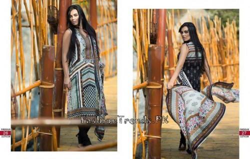 Firdous Cloth Mills Korean Lawn Collection 2015 (12)